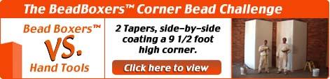 The BeadBoxers Corner Bead Challenge
